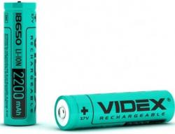 Аккумулятор 18650 Videx 2200mAh с защитой