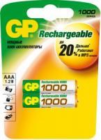 Аккумулятор GP HC03/AAA Ni-MH 1000mAh 2bl