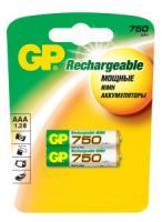 Аккумулятор GP HC03/AAA Ni-MH  750mAh 2bl
