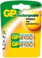 Аккумулятор GP HC6/AA Ni-MH 2100mAh 2bl