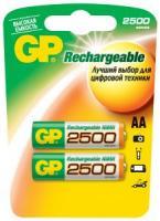Аккумулятор GP HC6/AA Ni-MH 2500mAh 2bl