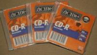 CD-R Acme 23 24x  slim