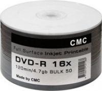 DVD -R CMC 4,7Gb 16x ( 50) bulk print glossy