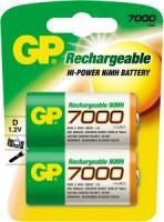 Аккумулятор GP HС20/D Ni-MH 7000mAh 2bl