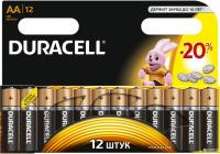 Батарейка Duracell LR 6/AA 12bl/180