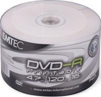 DVD -R Emtec 4,7Gb 16x ( 50) bulk print