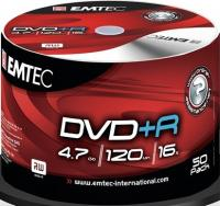 DVD+R Emtec 4,7Gb 16x ( 50) bulk