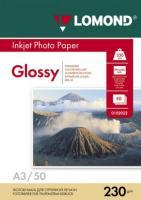 Фотобумага Lomond Glossy 29.7x42 (А3) 230 50л.