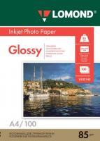 Фотобумага Lomond Glossy 21x29.7 (А4)  85 100л.