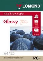 Фотобумага Lomond Glossy 21x29.7 (А4) 170  25л.