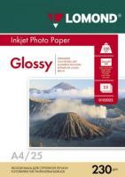Фотобумага Lomond Glossy 21x29.7 (А4) 230  25л.