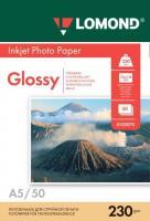 Фотобумага Lomond Glossy 14.8x21 (А5) 230  50л.