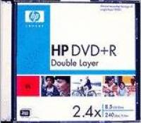 DVD+R HP 8,5Gb 2,4x  slim