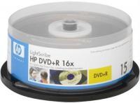 DVD+R HP 4,7Gb 16x LightScribe ( 10) cake