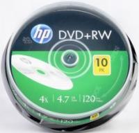 DVD+RW HP 4,7Gb 4x ( 10) cake