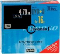 DVD+R Intenso 4,7Gb 16x ( 10) cake