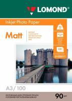 Фотобумага Lomond Matt 29.7x42 (А3)  90 100л.