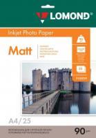 Фотобумага Lomond Matt 21x29.7 (А4)  90  25л.