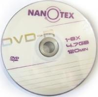 DVD+R Nanotex 4,7Gb 16x ( 50) bulk
