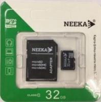 Карта памяти Neeka microSDHC 32Gb Class 10 с адаптером