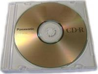 CD-RW Panasonic 80 4x  slim