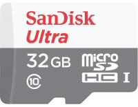 Карта памяти SanDisk microSDHC 32Gb Ultra Class 10