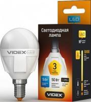 Лампа LED VIdex E14 G45  5W 4100K 220V