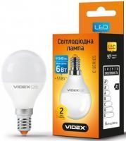 Лампа LED VIdex E14 G45e  6W 3000K 220V