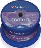 DVD+R Verbatim 4,7Gb 16x ( 50) cake (43550)