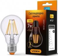 Лампа LED VIdex E27 A60F  7W 4100K 220V