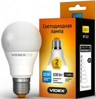 Лампа LED VIdex E27 A60e 12W 4100K 220V